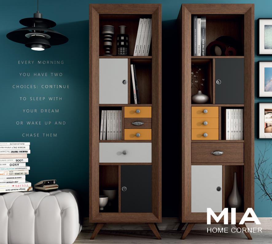 Muebles madrid muebles sal n mia home corner - Muebles vintage modernos ...