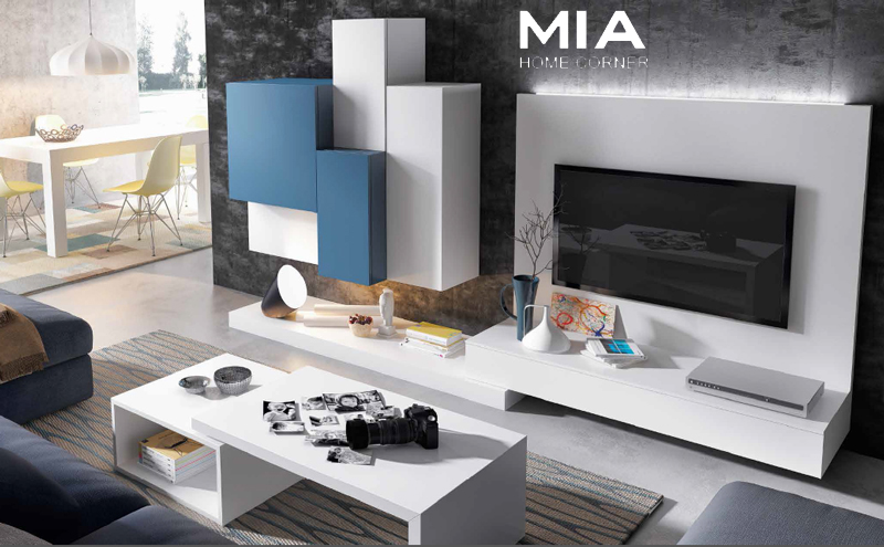 Muebles madrid muebles sal n mia home corner for Salones modernos madrid