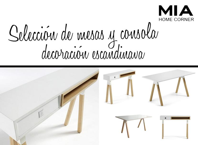 muebles madrid seleccion de mesas escandinavo