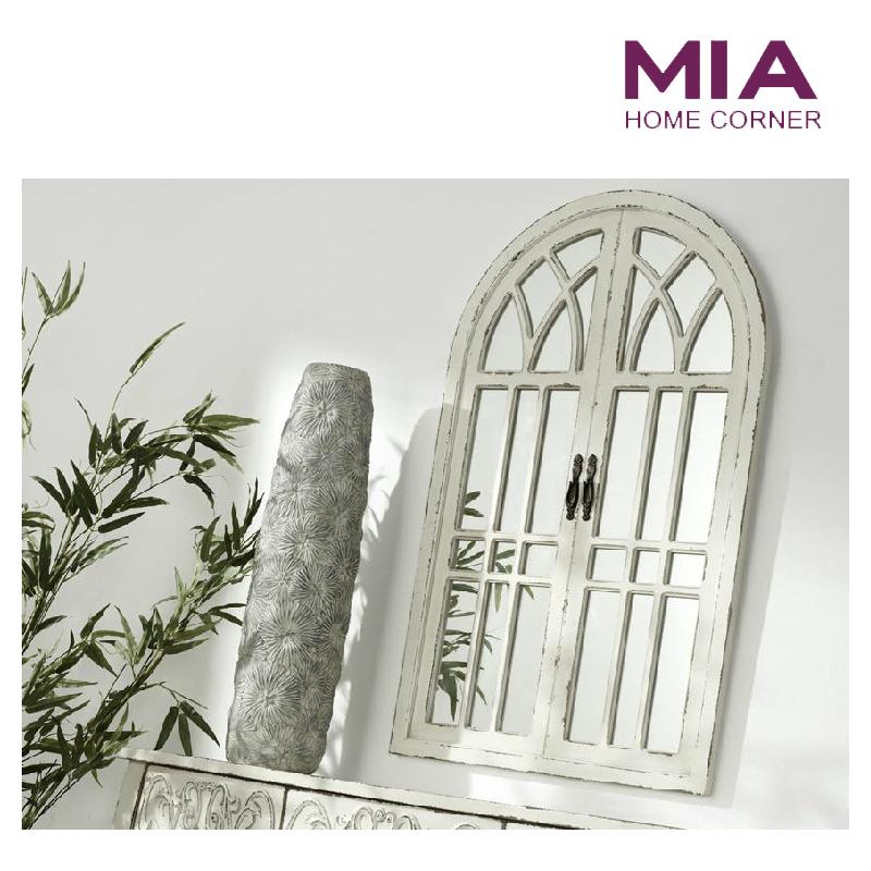 Espejo vintage forma de ventana. Mia Home Tienda de Muebles Madrid