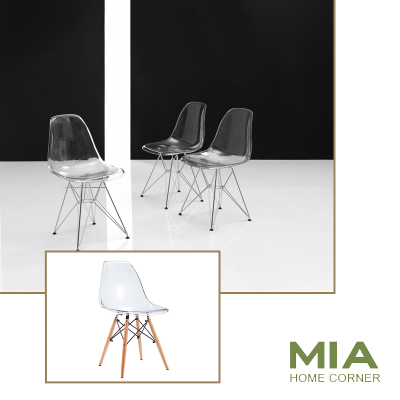 tienda de muebles madrid silla transparente