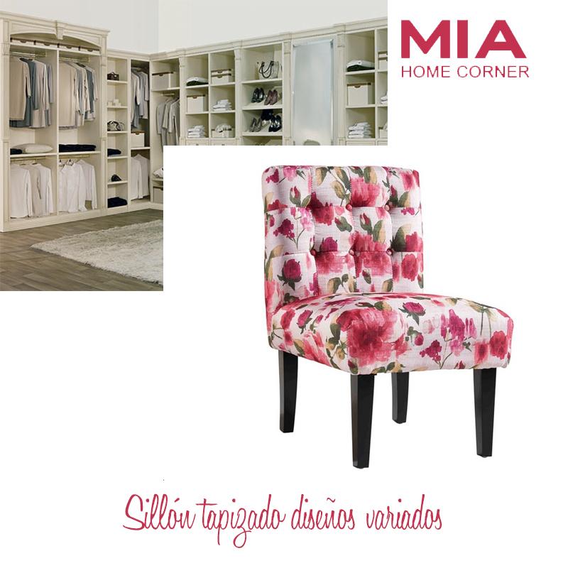 tienda de muebles madrid.Sillón tapizado diseños variados