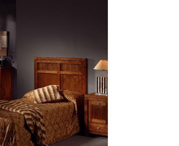 Cabecero de cama de mindi