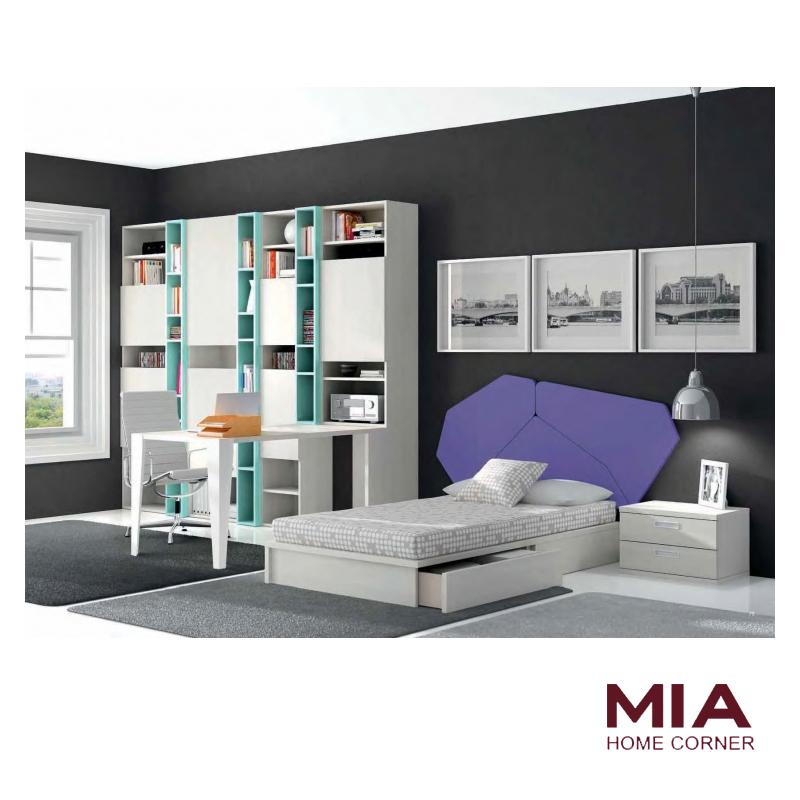 Dormitorio Juvenil Mag | Mia Home Corner Tienda de Muebles Madrid