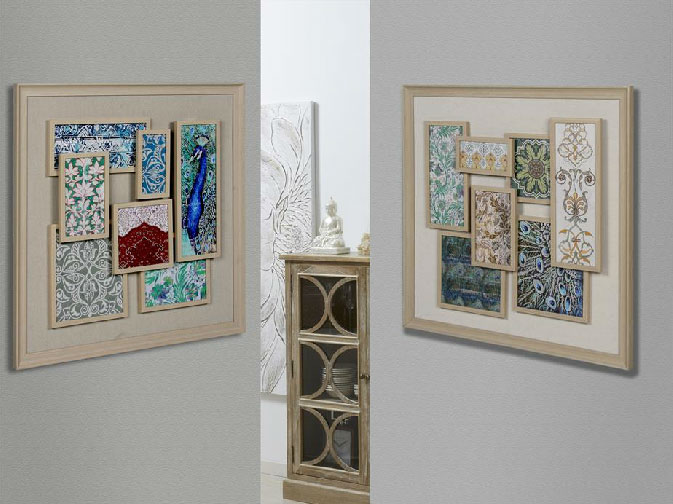 Cuadros patchwork, mosaicos decorativos / Mia Home Corner