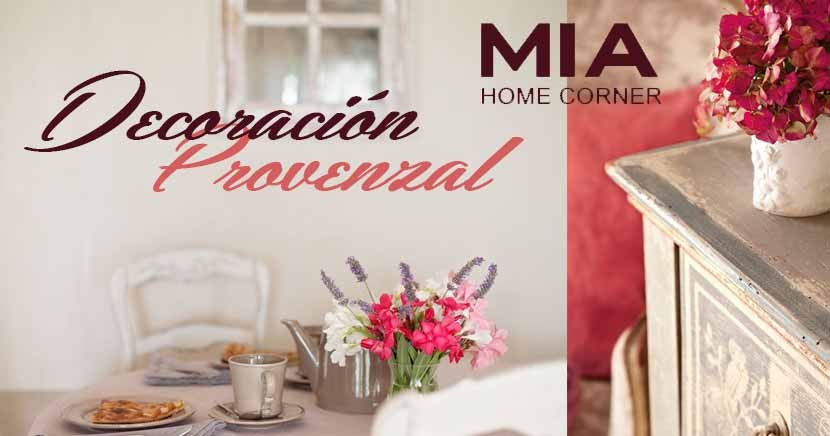 Tienda de muebles madrid decoraci n provenzal for Mia decoracion